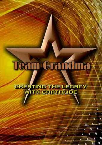 Team Grandma Creating the Legacy with Gratitude is a 90 day journal focusing on success daily.