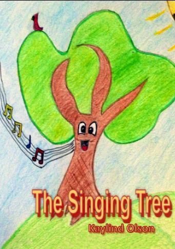 The Singing Tree was written by Kaylind Olson and illustrated by Madison Esteves.  This story explain the feeling of her grandmother singing and the JOY she felt in the moment.